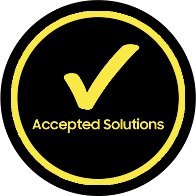 Gold Accepted Solutions