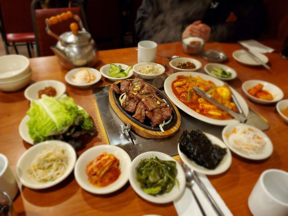 Korean BBQ for dinner