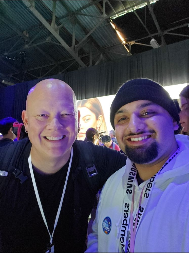 Legendary @AskDes and Rydah at Unpacked