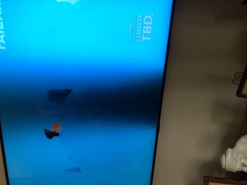 Gray Bar on SamSung TV only 18 monhs old
