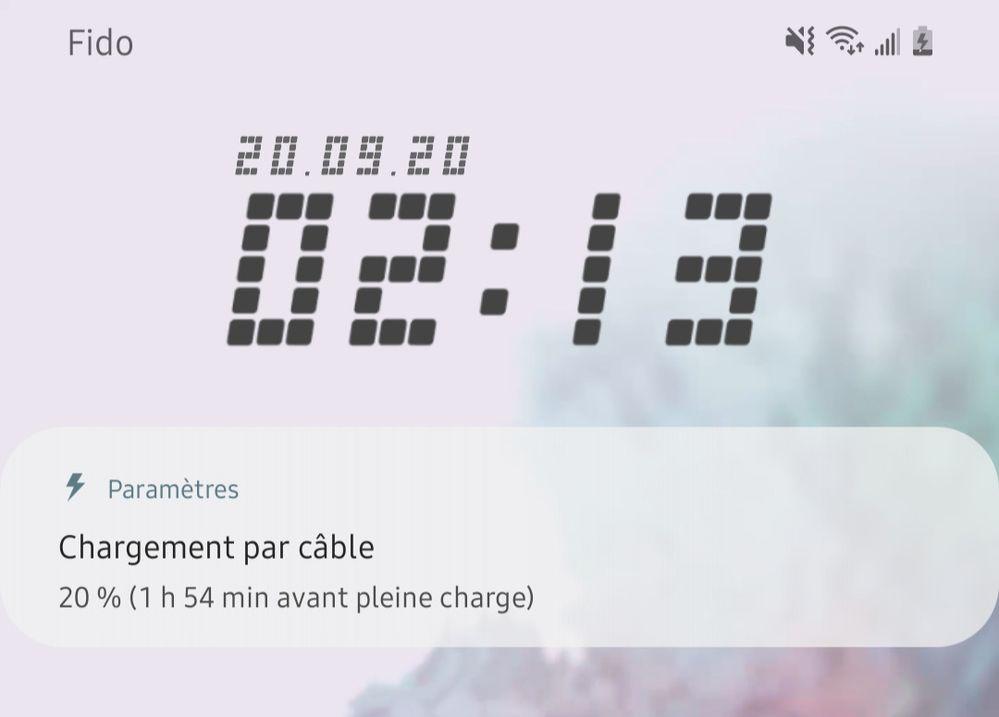 This is mu goodlock clock that reset when m'y phone restart