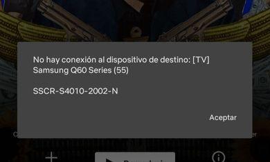 Error description (In spanish , translated before)