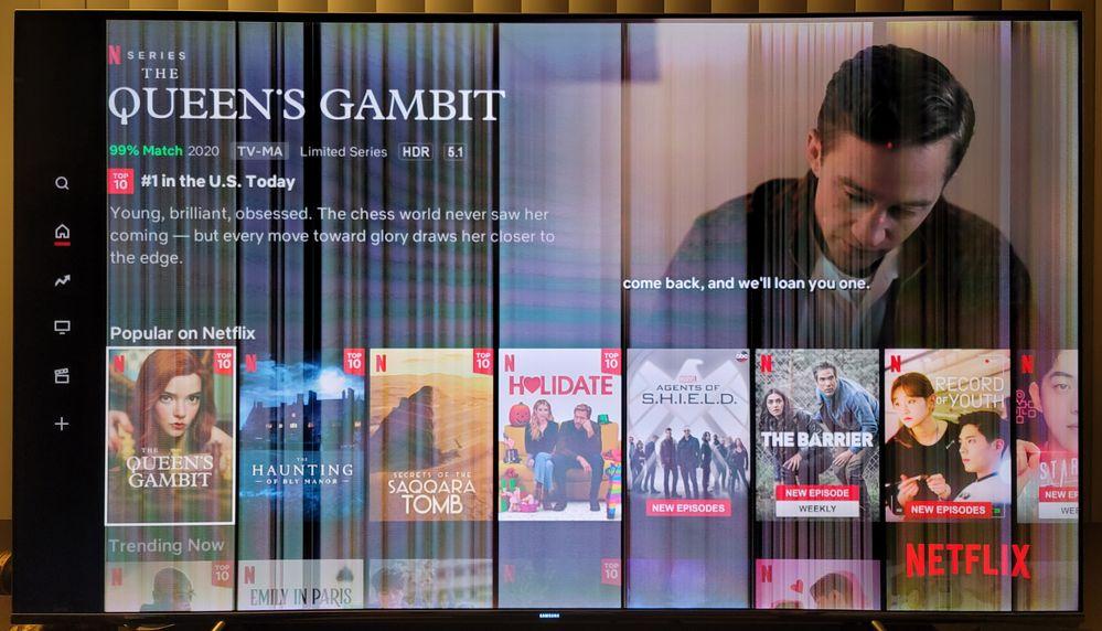 Vertical Lines on Netflix