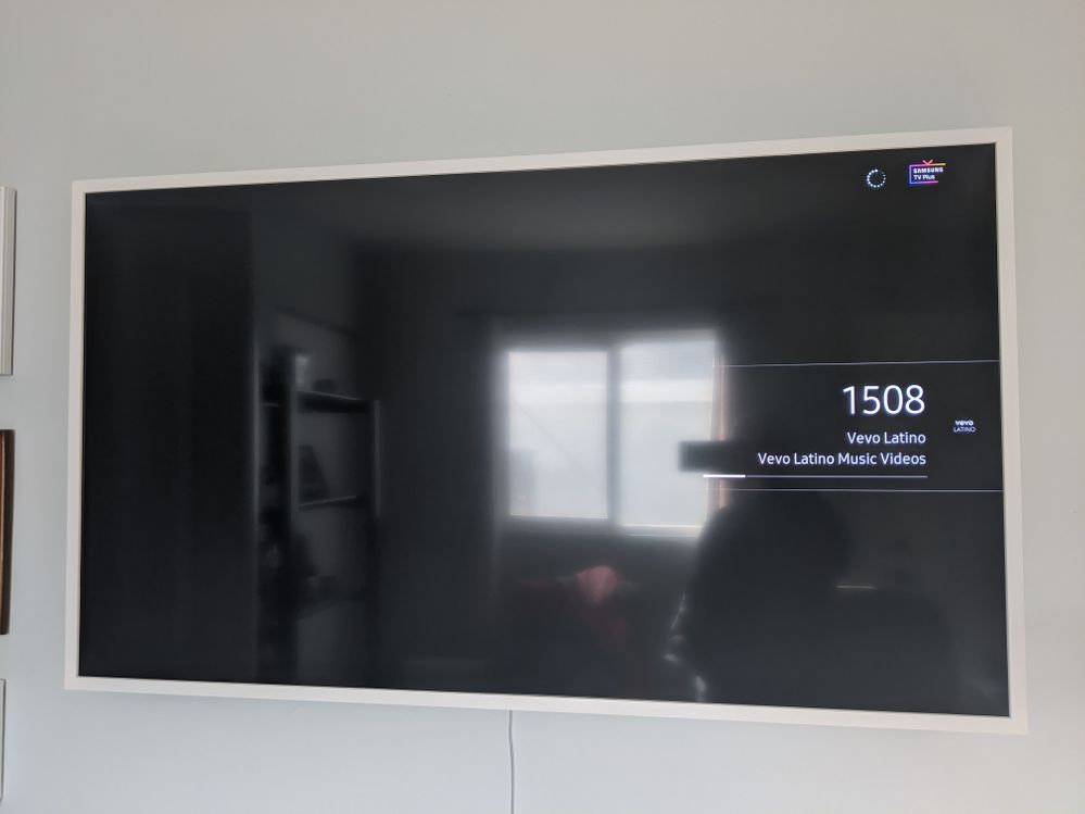 2020 The Frame result of pressing back button on remote (it goes back to prior channel)