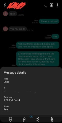 message type is chat