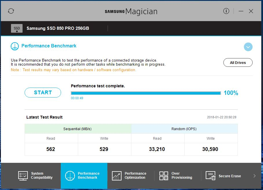Solved: 850 Pro Slow Down IOPS Slow - Samsung Community - 255292