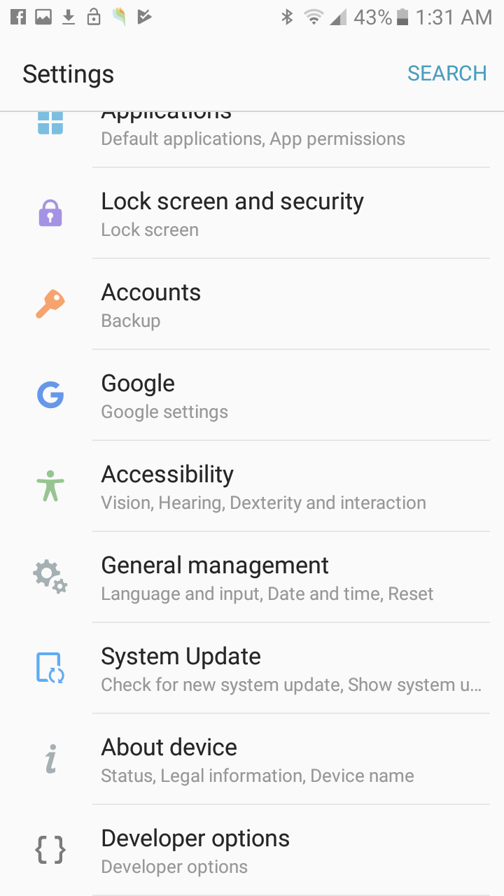 Solved: No option for Hotspot / Tether Galaxy j3 - Page 3
