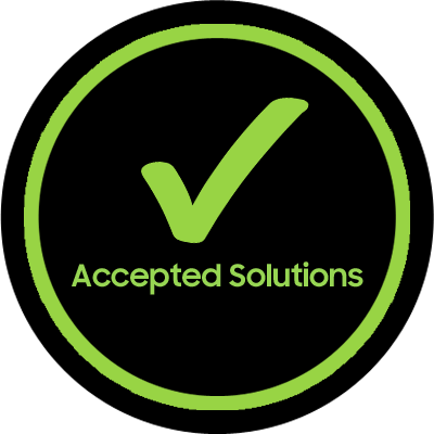 Accepted Solutions Badge