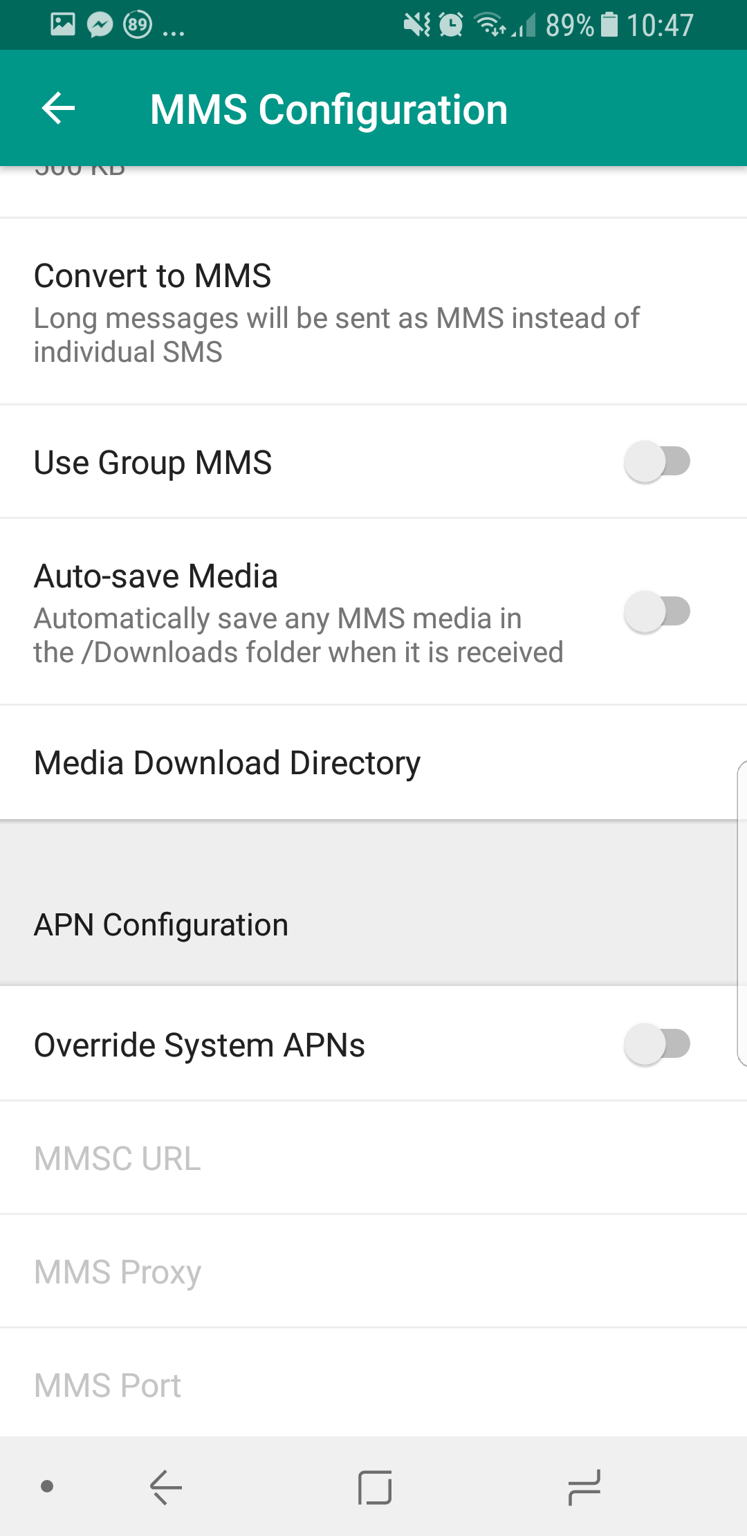 Sending sms to multiple recipients android