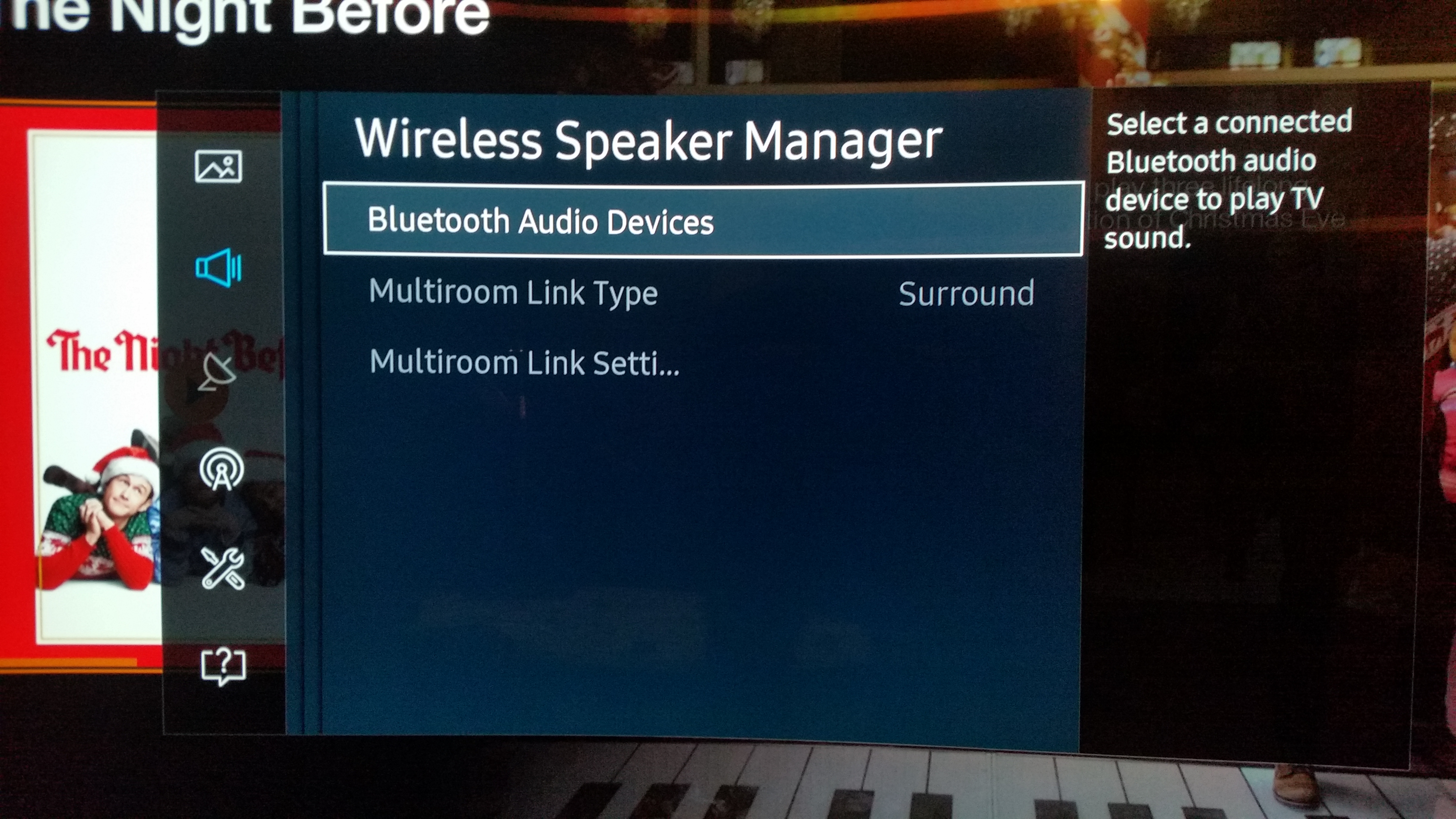Samsung Tv Wireless Speaker Manager Not Available Wire Center Blue Ox Bx88267 Led Wiring Kit Solved Can T Control Sound Mode On Shud When S Rh Us Community Com Surround System